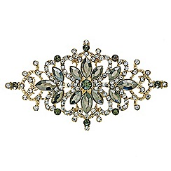 Mood - Decorative crystal embellished brooch