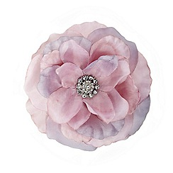 Mood - Layered pink floral corsage