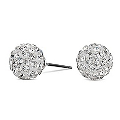 Mood - Cave crystal ball stud earring