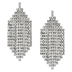 Mood - Diamante crystal chandelier earring