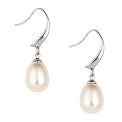 Mood - Classic cream pearl drop earring