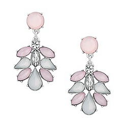 Mood - Rosewater opalesque chandelier earring