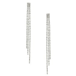 Mood - Diamante crystal triple drop earring