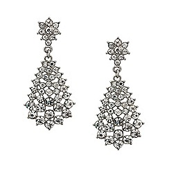 Mood - Diamante cluster teardrop earring