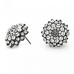 Mood - Diamante crystal starburst stud earring