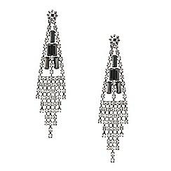 Mood - Diamante crystal slinky chandelier earring