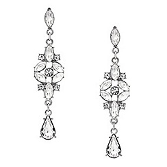 Mood - Vintage style navette drop earring