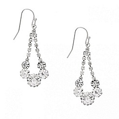Mood - Diamante crystal swing drop earring
