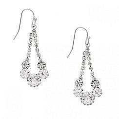 Mood - Diamante crystal swing drop earring