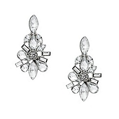 Mood - Mixed crystal cluster stone drop earring