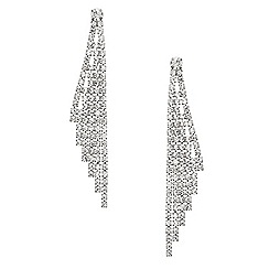 Mood - Diamante crystal wing drop earring