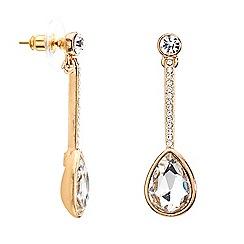 Mood - Crystal stick teardrop earring
