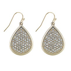 Mood - Crystal embellished four teardrop earring