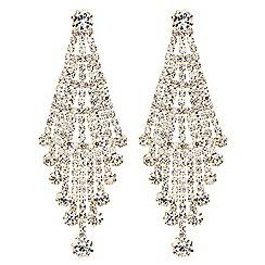 Mood - Crystal drop chandelier earring