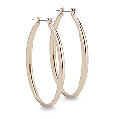 Mood - Gold sleek hoop earring