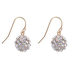 Mood - Rose gold crystal embellished earring