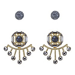 Mood - Two pack statement earring set