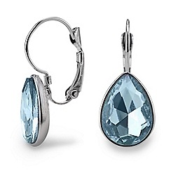 Mood - Blue teardrop earring