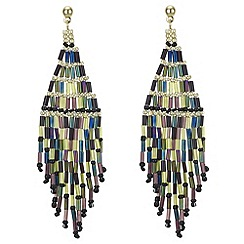 Mood - Beaded drop chandelier earring