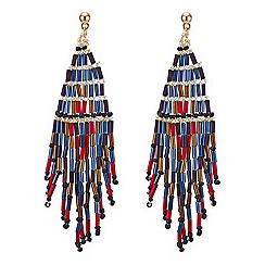 Mood - Multicolour beaded chandelier earring