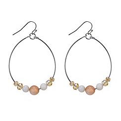 Mood - Threaded bead drop earring