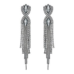 Mood - Navette twist diamante shower earring