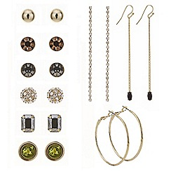 Mood - Stud and drop mixed earring pack