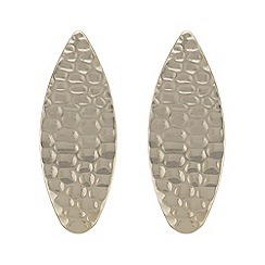 Mood - Textured oversized earring