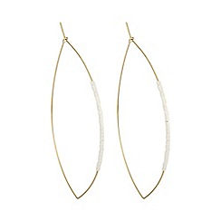 Mood - Beaded hoop earring