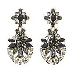 Mood - Crystal cluster statement earring