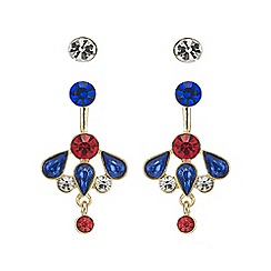 Mood - Multi colour earring set
