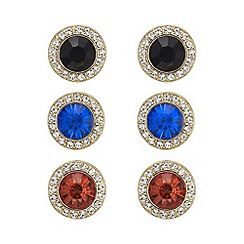 Mood - Multi colour stud earring set
