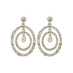 Mood - Gold multi circle earring