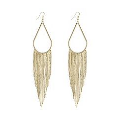 Mood - Fringed statement earring