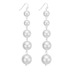 Mood - Oversized pearl drop earring