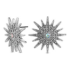 Mood - Oversized star stud earrings