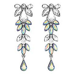 Mood - Aurora borealis crystal cluster earrings