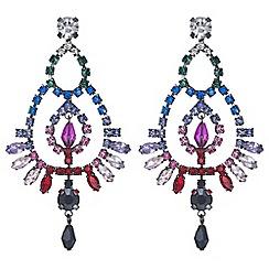 Mood - Crystal rainbow chandelier earrings