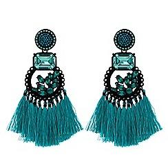 Mood - Statement fringed earrings