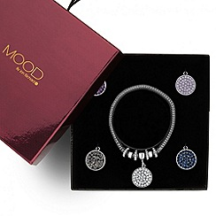 Mood - Silver mesh bracelet with interchangeable charms
