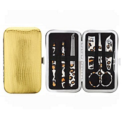 Mood - Snakeskin effect metallic manicure nail set