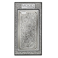 Mood - Embellished silver stone iPhone 6 case
