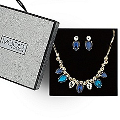 Mood - Great value multicoloured teardrop jewellery set
