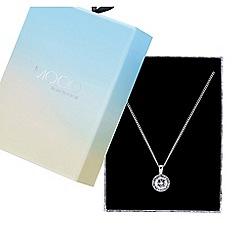 Mood - Valentines crystal halo pendant