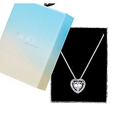 Mood - Valentines crystal heart pendant