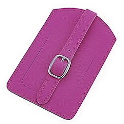Mood - Fuchsia luggage tag