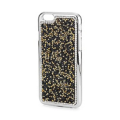 Mood - Black and gold crystal cluster iphone 6 case