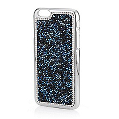 Mood - Black and blue crystal cluster iphone 6 case