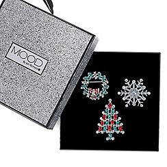 Mood - Christmas pin badge set