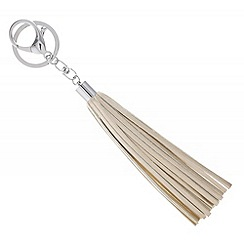 Mood - Rose gold tassel keyring